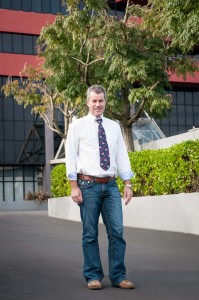 Corporate portrait full length for red badge professional photography Auckland new zealand