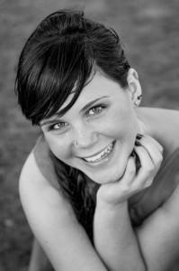 portrait hair stylist Montages corporate portrait for Chantal Landais Hair Salon Auckland Buisness employee
