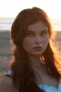 Make up by Hannah Scarr, sunset bride. At Piha beach, Auckland, New Zealand.