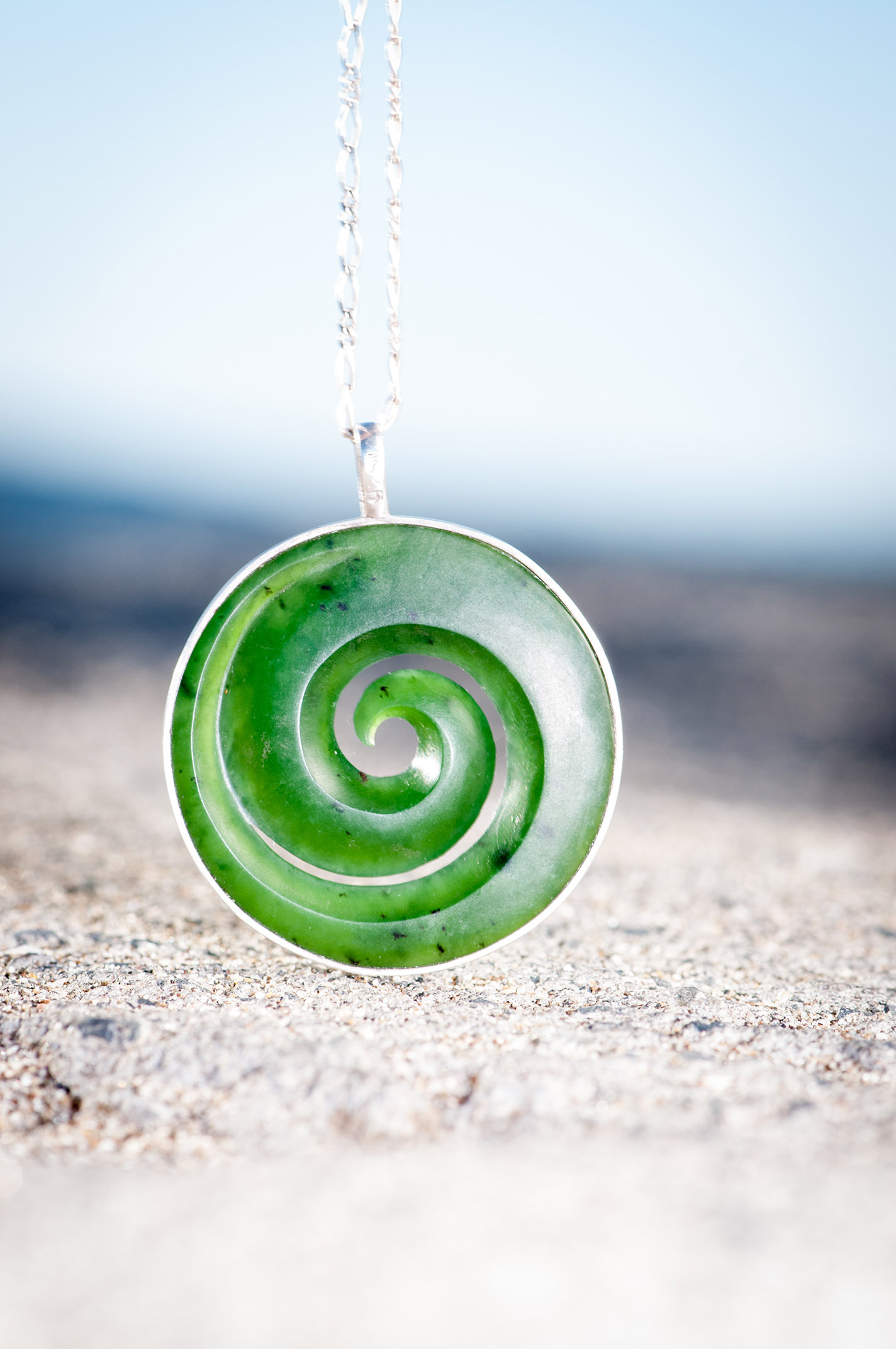 wanderer products pearl of mother koru necklace imports