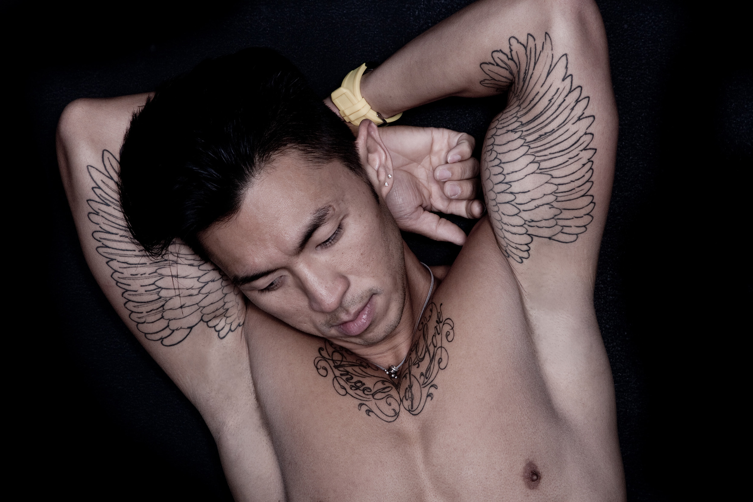 Anais_Photography_Asian_Tatoo_Angel_Portefolio_Man_Model