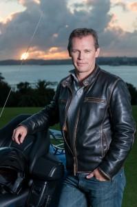 Portrait Motor bike rental company professional photography MotoLimo Auckland new zealand nz