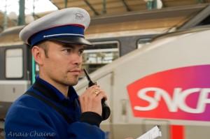 SNCF portrait employee train station france Paris gare de Lyon