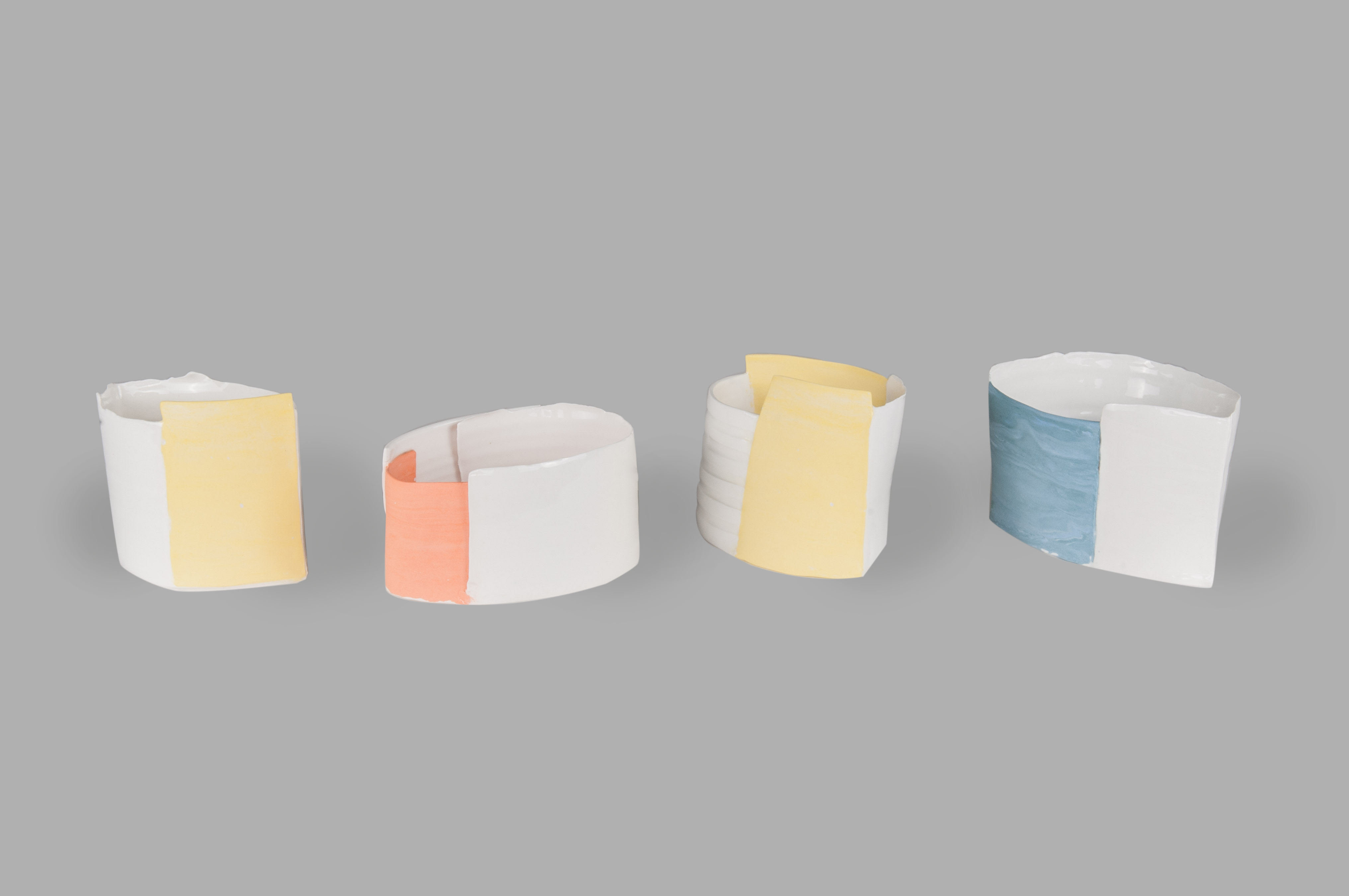 Nadine Spalter, vases, studio art reproduction porcelaine artist in Auckland, NZ