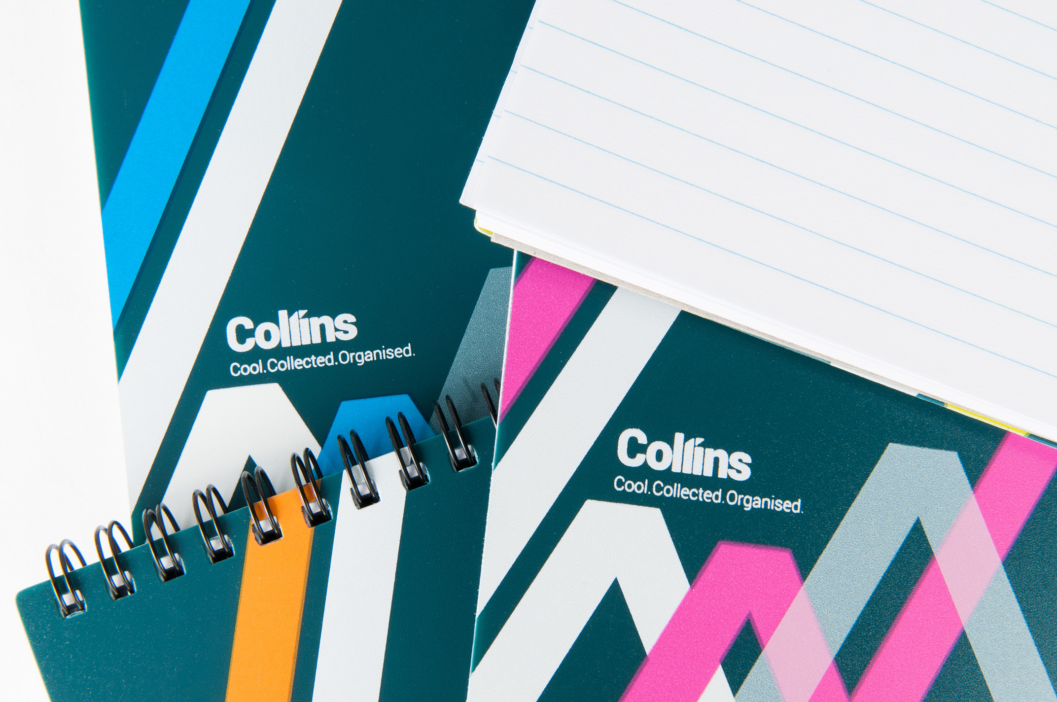 Croxley Collins notenooks product photography auckland