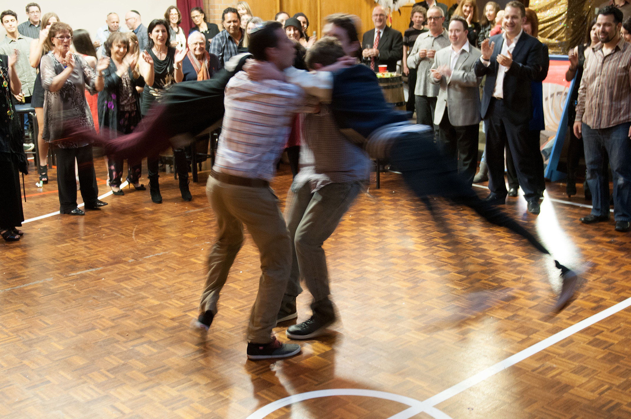 Dance Kadimah jewish school in Auckland city 108 Greys Ave Auckland. Izaac Bar Mitzvah celebration photographed by Anais Chaine.