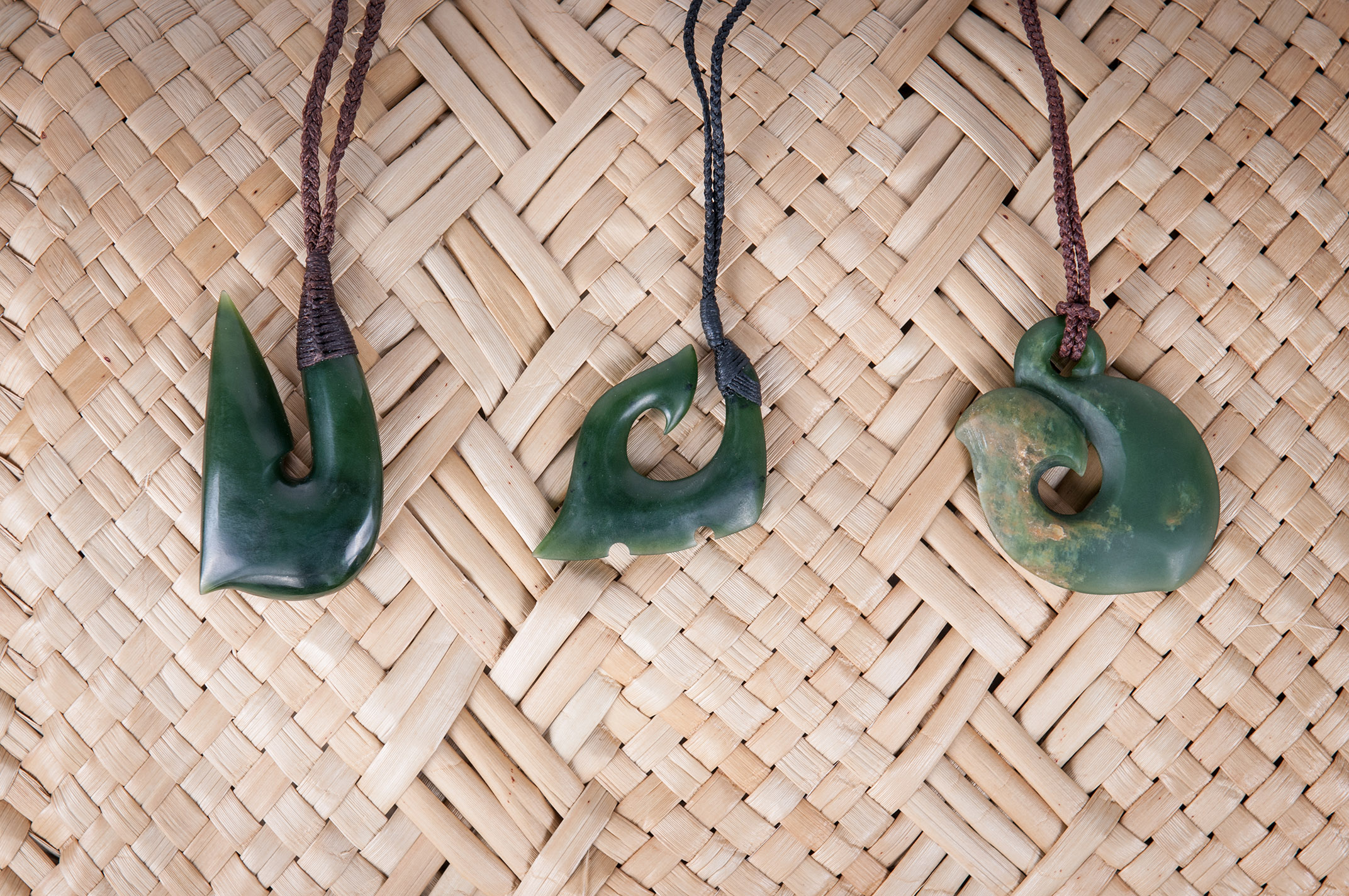 Jade Mautau pendants Product photography Anais Chaine professional Auckland photographer for Auckland museum www.anaischaine.com