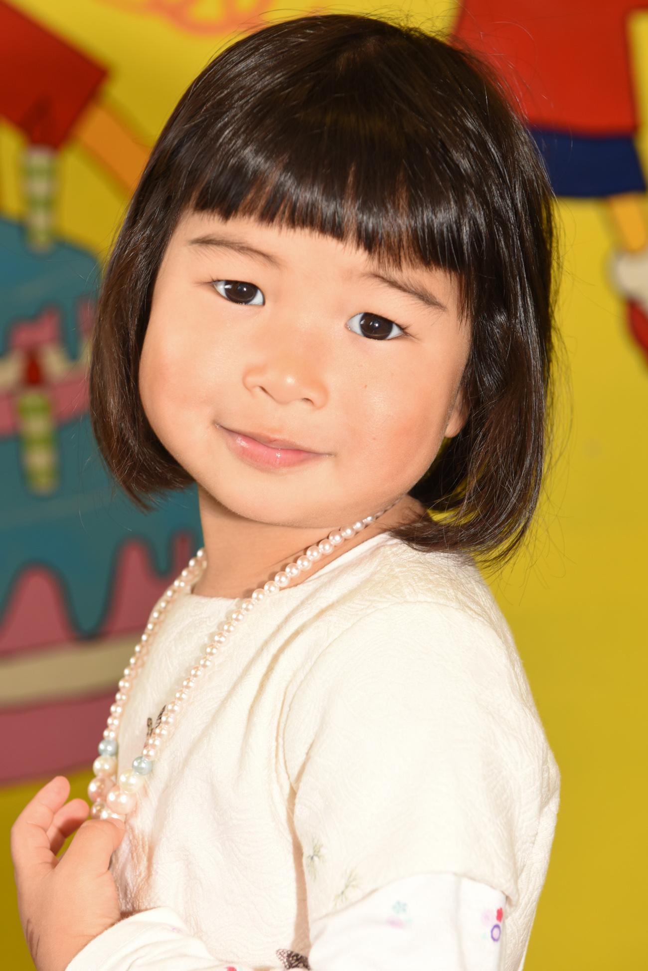Little chinese child portrait